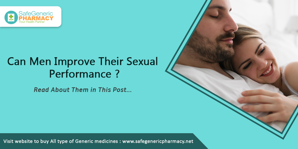 Can Men Improve Their Sexual Performance