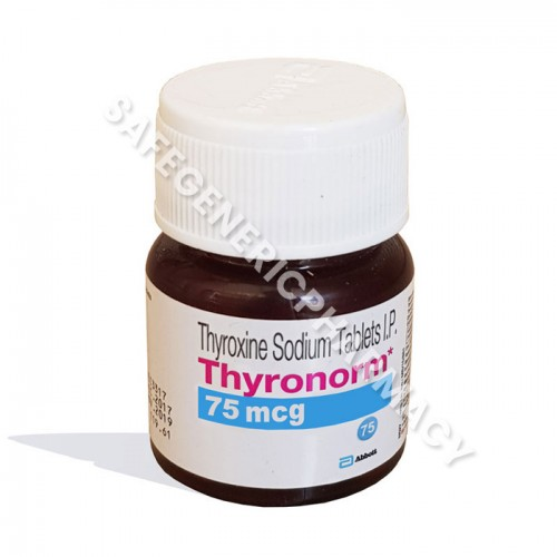 Buy Thyronorm 75mcg Online Thyroxine Sodium Reviews Low Price