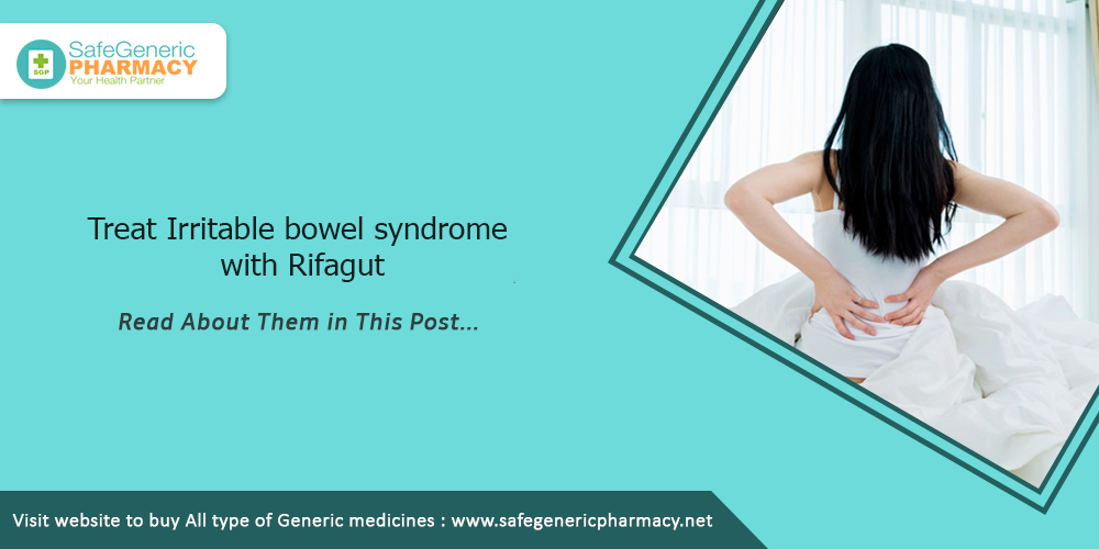 Treat Irritable bowel syndrome with Rifagut