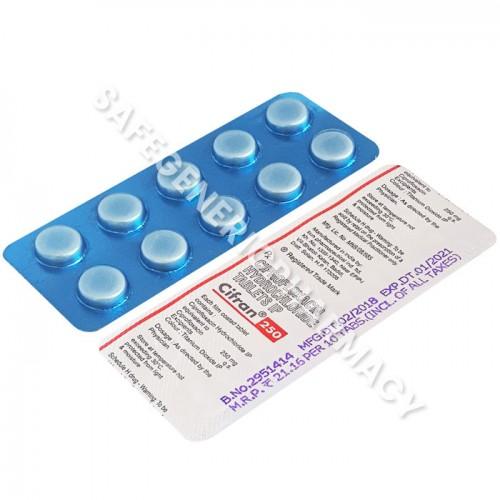 Cifran 250 mg - Buy Cifran 250mg (Ciprofloxacin) Online in USA