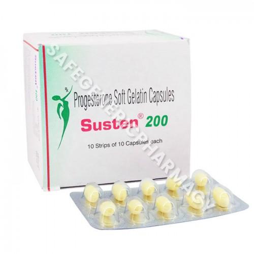 Susten 200 mg- Buy Susten 200mg ( Progesterone ) Online in USA