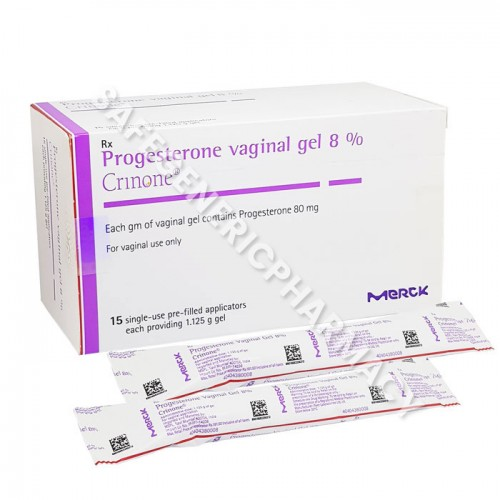 Crinone 8% Vaginal gel 1.125g