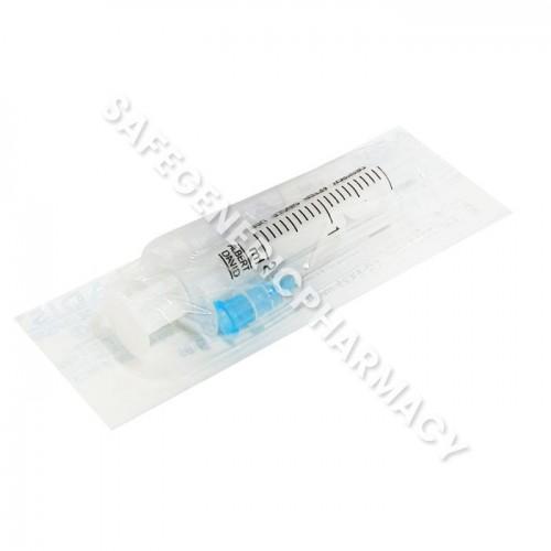 Plastic Syringe with needle 2ml