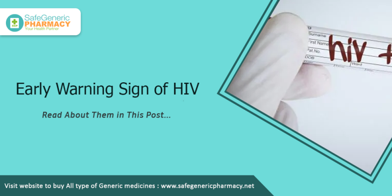 Early Warning Sign of HIV