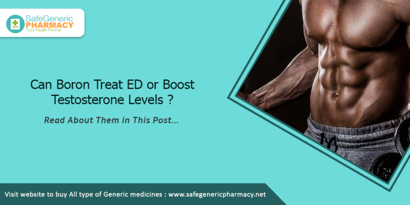 Can Boron Treat ED or Boost Testosterone Levels
