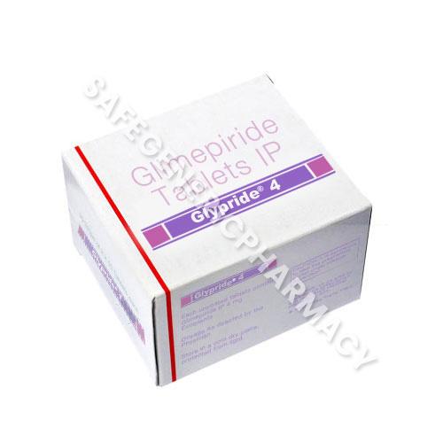 Glypride 4mg (Glimepiride)