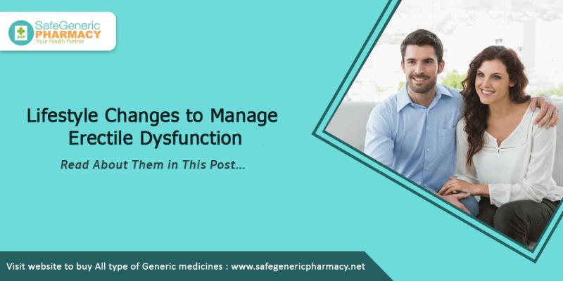 Lifestyle Changes to Manage Erectile Dysfunction