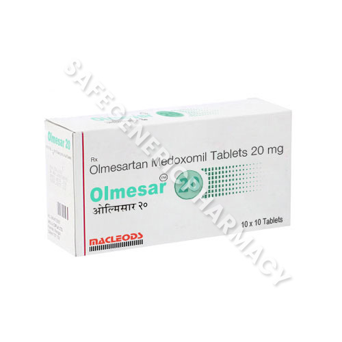 Olmesar 20 mg (Olmesartan 20)