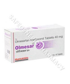 Olmesar 40 mg (Olmesartan 40)