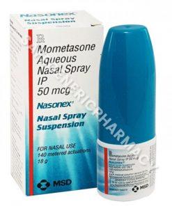 Nasonex Nasal Spray (Mometasone Furoate 50mcg) 18g