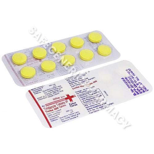 Tiniba 300 mg (Tinidazole)