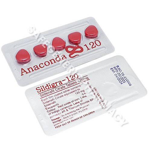 Anaconda 120 (Sildenafil Citrate)
